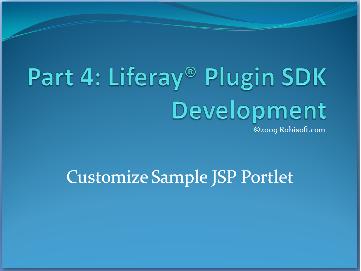 Part 4: Plugin SDK Development